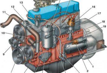 "Silnik 405 ( ""Gazelle""): Dane techniczne"