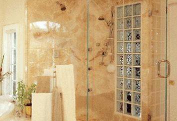 Prysznice szkła. szczegółowy opis