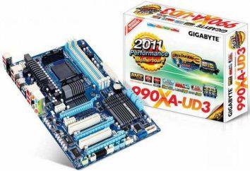 Płyta główna GIGABYTE GA-990XA-UD3: przegląd, funkcje i opinie