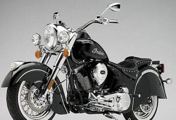 """Motocykl """"Indian"""": charakterystyka, zdjęcie, cena"""