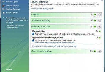 Détails sur la façon de désactiver le logiciel antivirus Microsoft Security Essentials