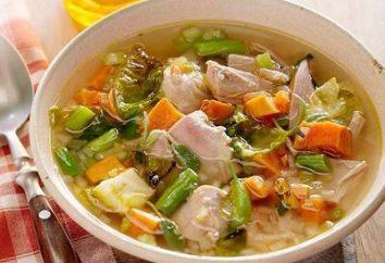 Inscatolamento di casa: zuppa di riempimento per l'inverno