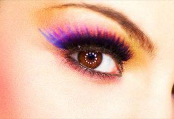 lenti colorate per gli occhi scuri