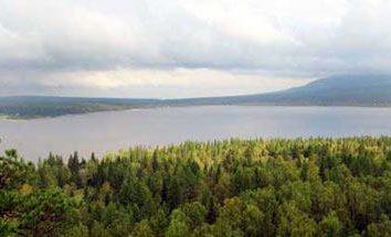 Jezioro o powierzchni Swierdłowsku: Sandy – Mała Szwajcaria na obrzeżach Jekaterynburgu