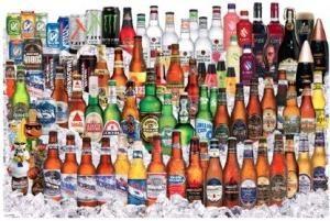 Vários tipos de cerveja