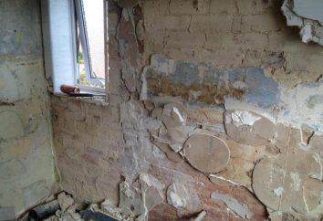 Vorbereitung Wand im Bad für Fliesen: im Panel Hause