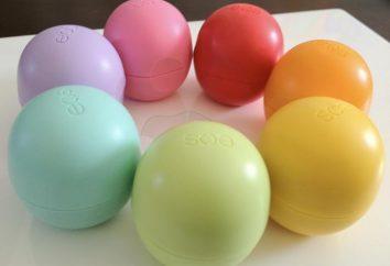 La nueva instalación en los cosméticos de la empresa EOS – Lip Balm