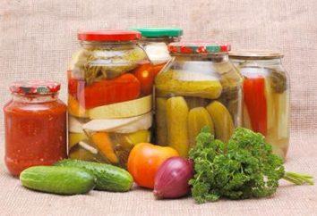 légumes marinés: recette et recommandations. Assortiment de légumes marinées pour l'hiver