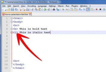 Przykładem strony HTML i podstawowe zasady
