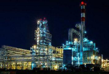 Yaya Raffinerie. Öl Yaya (Gebiet Kemerowo)