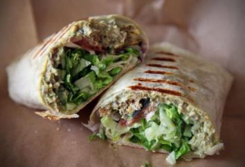 Vegetarisch shawarma: Rezepte