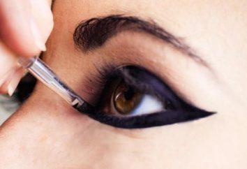 Make-up-Unterricht: Wie Pfeile auf den Augen ziehen