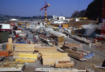 La estructura de una empresa de construcción: gestión, ingenieros y trabajadores. la construcción de confianza