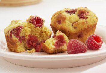 Muffins con frambuesas: las mejores recetas