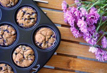 Cupcakes z porzeczek: Przepisy