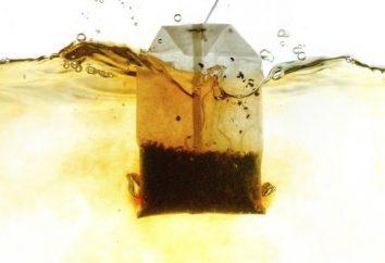 Bons sacos de chá. selecção de chás. Qual chá é melhor – em sacos ou a granel?