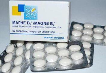 """""""Magnesium B6 Forte"""": instrukcje użytkowania. """"Magnesium B6 Forte"""" w ciąży: Opinie"""