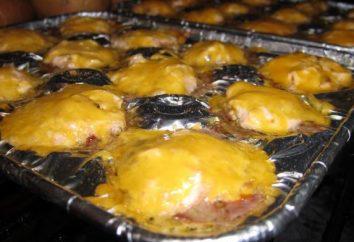 Mięso z ananasem i serem w piecu. Przepisy na wieprzowinę
