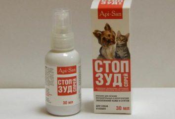 Suspension « Stop Démangeaisons » pour les chats: l'application et commentaires