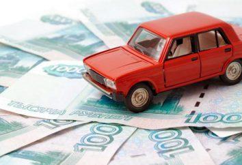 impuesto sobre vehículos en San Petersburgo: la velocidad y el cálculo