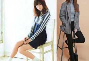 cânones do leste da beleza: as mais belas japonês