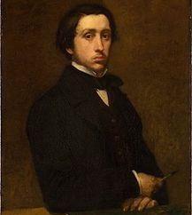 Impresjonistycznego malarza obrazy Edgar Degas, rzeźby i biografia