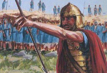 reino hebreo y sus gobernantes. La capital del reino hebreo