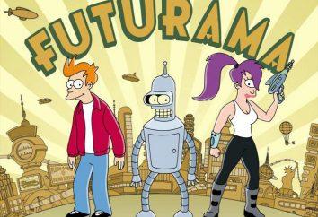 """A série animada """"Futurama"""": personagens"""