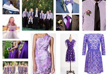 kolor lawendowy w ubraniach