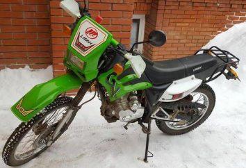 Motocykl Lifan LF200: Opis i dane techniczne