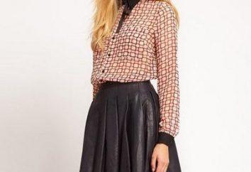 Jupe courte: tendances de la mode 2013