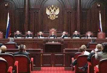 procedimenti costituzionali. I principi costituzionali della giustizia russa