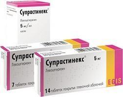 Lek Suprastinex. Instrukcje użycia