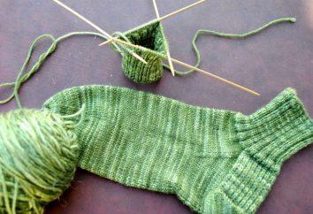 Ich weiß nicht, wie man eine Socke mit Stricknadeln binden kann? Für Anfänger Nadelfrauen ist das jetzt kein Problem!
