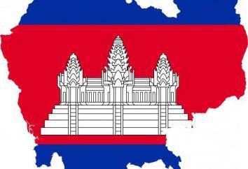 Descrizione Cambogia bandiera e di valore