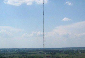 Varsóvia construção rádio mastro, operação e colapso