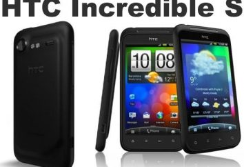 HTC Incredible S: spécifications, critiques, descriptions, prix