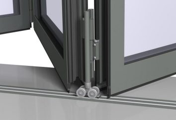 Drzwi przesuwane na rolkach z rąk. Hardware, instrukcja montażu