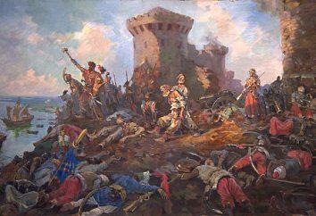 siège Azov 1637 – 1642 brièvement. siège Azov Cosaques du Don