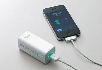 """de carga portátil para """"iPhone 5"""" y otros tipos de cargadores"""