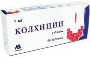 """Lek """"Colchicine"""". Instrukcje użytkowania"""