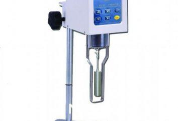 Apparecchio per la misurazione della viscosità del fluido. viscosimetro rotazionale