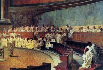 Römische Gesetze 12 Tische: allgemeine Beschreibung und Geschichte der Schöpfung