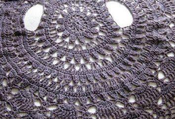 Cape Crochet: aplicação, diagramas e descrição