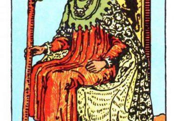 Król różdżki Tarota: wartość w relacji
