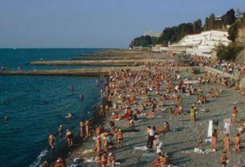 """spiaggia """"Riviera"""" (Sochi): foto, recensioni. Come raggiungere la spiaggia?"""