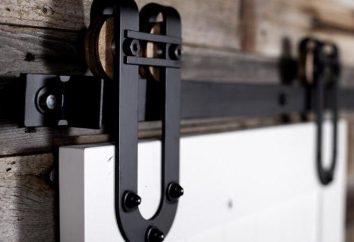Sistema de puertas deslizantes: tipos de características de montaje