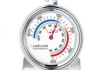 Thermomètres pour fours – description et caractéristiques