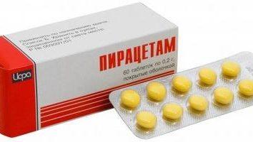 """w sprawie stosowania """"Piracetam"""" instrukcji. podstawowe informacje"""