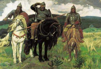 """Obraz Vasnetsov """"Heroes"""": cała Rosji na jednym płótnie"""